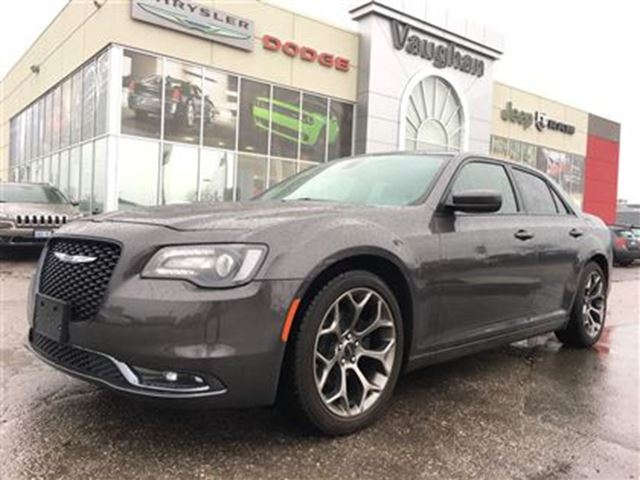 2016 CHRYSLER 300 300S * LEATHER* PANORAMIC SUNROOF* NAVIGATION in Woodbridge, Ontario