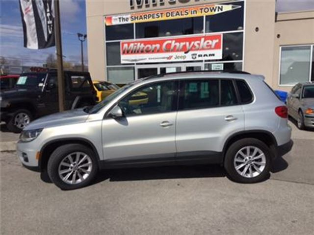 2014 Volkswagen Tiguan HIGHLINE AWD NAVIGATION LEATHER SUNROOF in Milton, Ontario