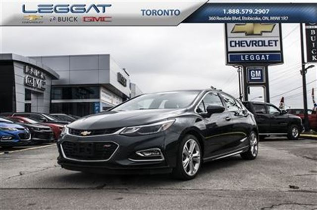 2017 Chevrolet Cruze Premier Auto, Leather, Starter. GM Company Car in Rexdale, Ontario