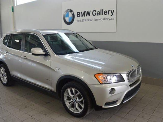 2013 bmw x3 xdrive28i calgary alberta used car for sale 2746990. Black Bedroom Furniture Sets. Home Design Ideas