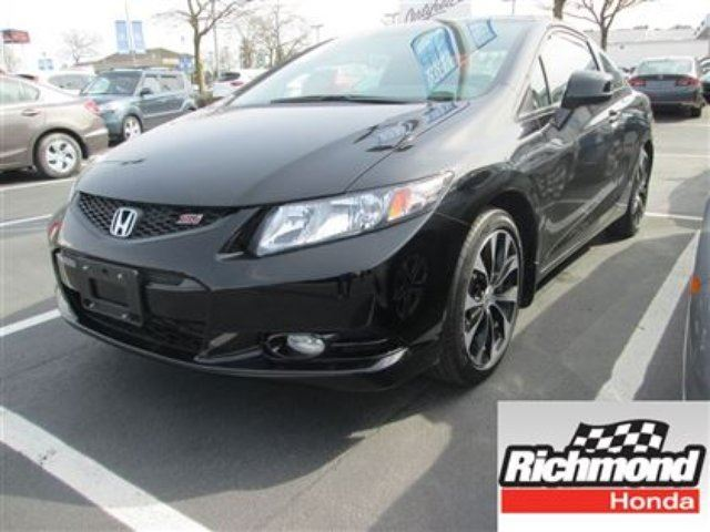 2013 Honda Civic Si! Honda Certified Extended Warranty to 160, 000 in Richmond, British Columbia