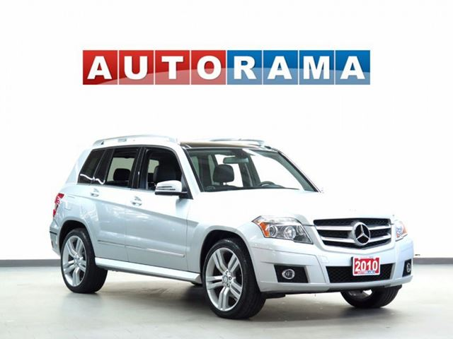 2010 MERCEDES-BENZ GLK-CLASS GLK350 LEATHER 4WD PANAROMIC SUNROOF in North York, Ontario