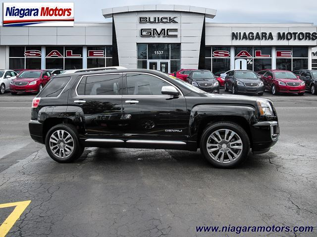 2017 gmc terrain denali awd one owner top of the line virgil ontario car for sale. Black Bedroom Furniture Sets. Home Design Ideas