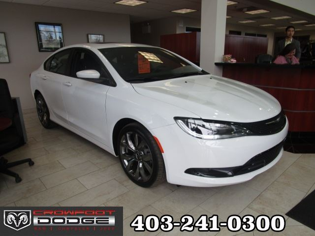 2016 Chrysler 200 S ALLOY EDITION AWD in Calgary, Alberta