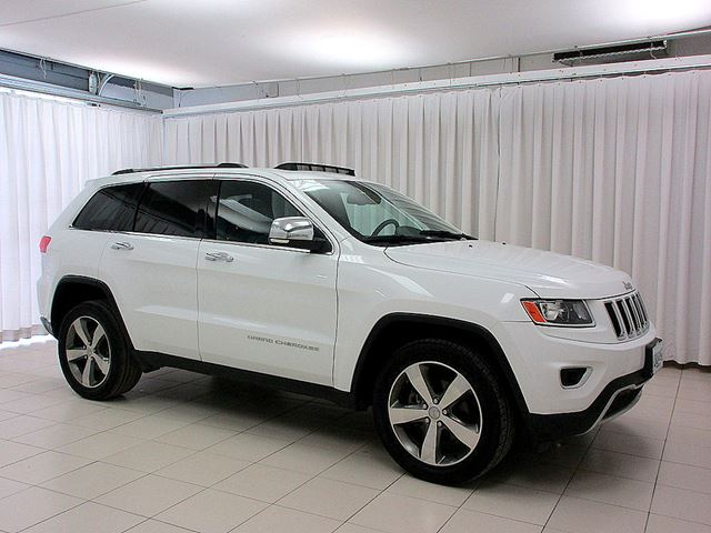 2015 JEEP GRAND CHEROKEE LIMITED 4X4 SUV w/ LEATHER, MOONROOF & BACK UP  in Halifax, Nova Scotia