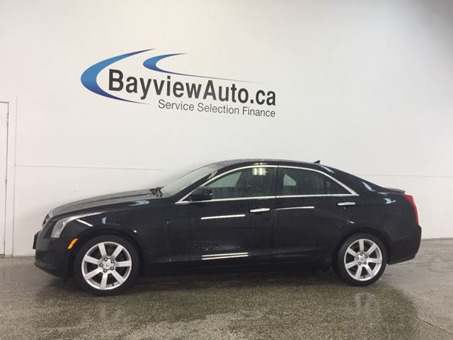 2014 CADILLAC ATS - 2.5L! TINT! PUSH START! LEATHER! BOSE! in Belleville, Ontario