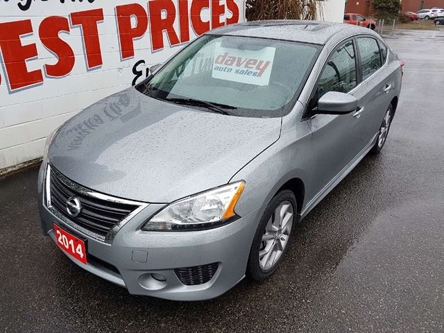 2014 NISSAN SENTRA 1.8 SR NAVIGATION, BACK UP CAMERA, SUNROOF  in Oshawa, Ontario