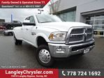 2016 Dodge RAM 3500 Laramie ACCIDENT FREE // DUALLY, CUMMINS TURBO DIESEL & NAVIGATION in Surrey, British Columbia