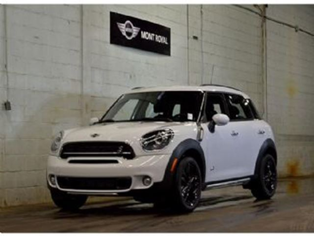 2016 mini cooper countryman mini countryman s all4 pneus hiver inclus mississauga ontario. Black Bedroom Furniture Sets. Home Design Ideas