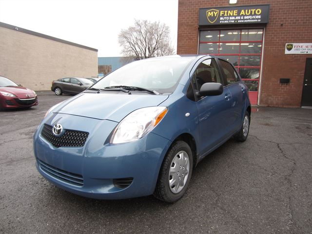 2007 Toyota Yaris LE /  AUTOMATIC / POWER GROUP / AC in Ottawa, Ontario