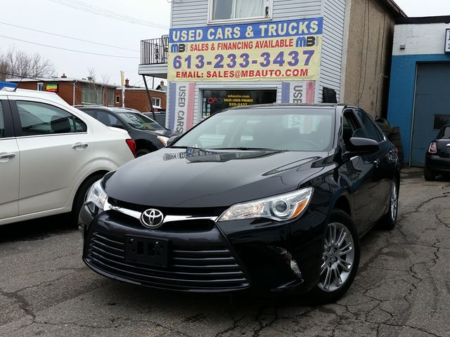 2015 Toyota Camry LE 0 DOWN $66 WEEKLY!  in Ottawa, Ontario
