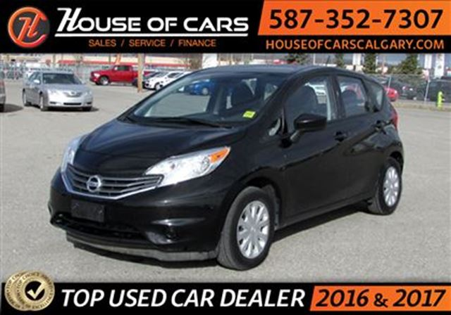 2016 nissan versa 1 6 sv calgary alberta used car for. Black Bedroom Furniture Sets. Home Design Ideas