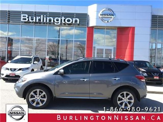 2013 Nissan Murano LE PLATINUM, NAVi, LOW LOW KM'S ! in Burlington, Ontario