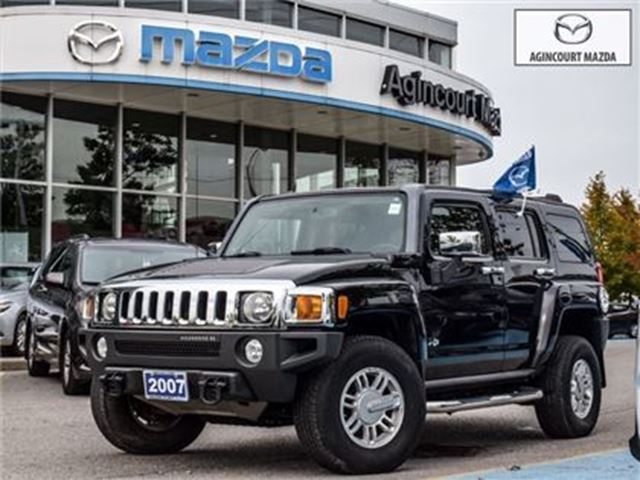 2007 HUMMER H3 ACCIDENT-FREE, CHROME GRILL in Scarborough, Ontario