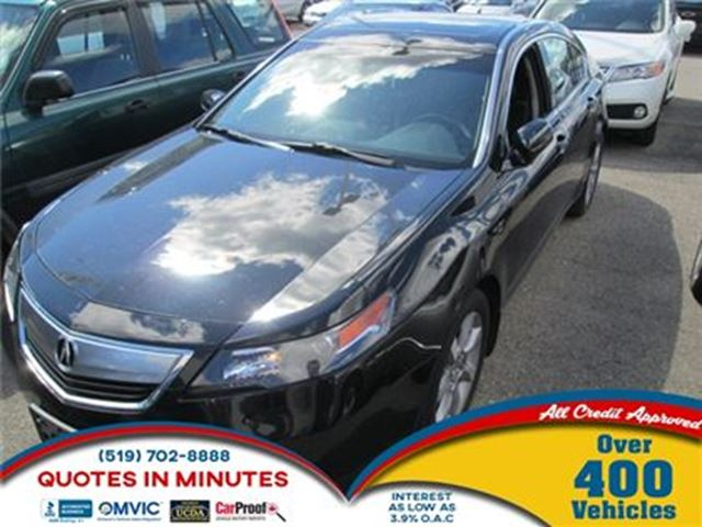 2013 ACURA TL TECH PACKAGE   NAVIGATION   LEATHER   ROOF in London, Ontario