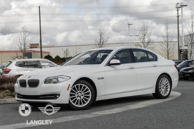 2013 BMW 5 Series 535 Premium Seating and Executive Packages!! in Langley, British Columbia