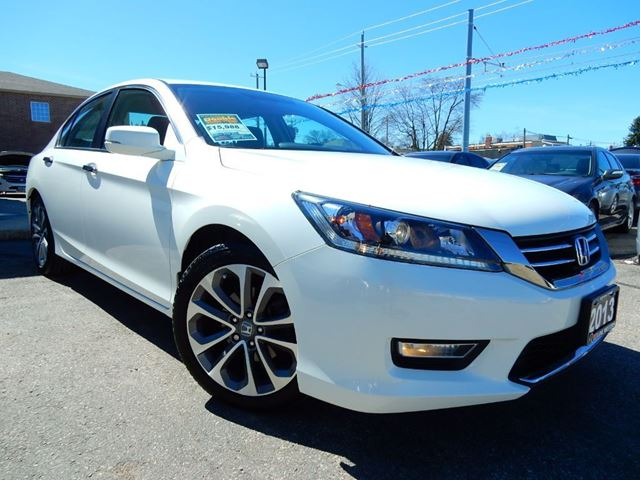 2013 Honda Accord SPORT  LOADED  BACK UP CAM  ONE OWNER in Kitchener, Ontario
