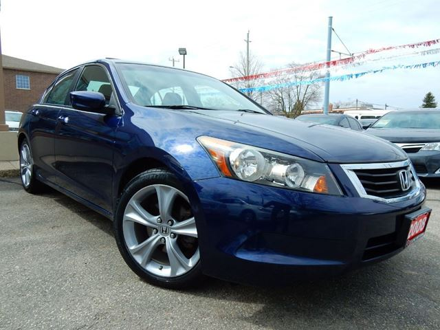 2008 Honda Accord EX-L W/NAVIGATION  LEATHER.ROOF  NO ACCIDENT in Kitchener, Ontario
