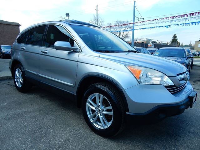 2007 honda cr v ex l w navigation leather roof no accident for Honda crv exl with navigation