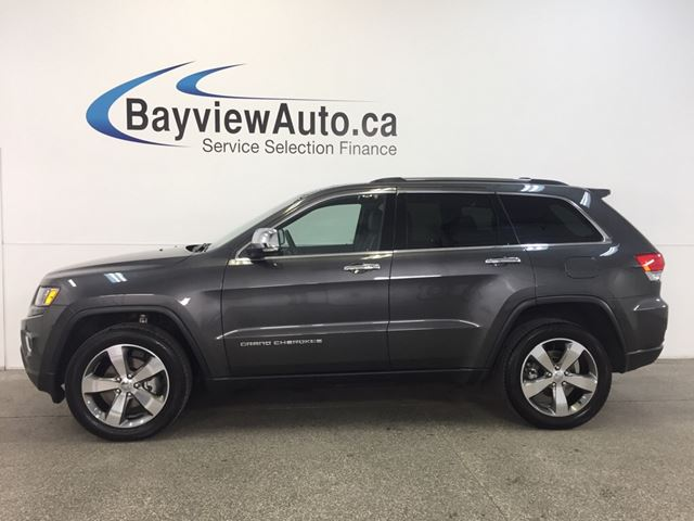 2016 JEEP GRAND CHEROKEE LTD- 4x4! ROOF! LEATHER! NAV! REMOTE START!  in Belleville, Ontario