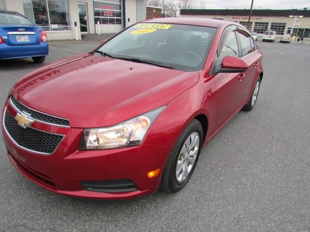2012 Chevrolet Cruze LT Turbo w/1SA in Cowansville, Quebec