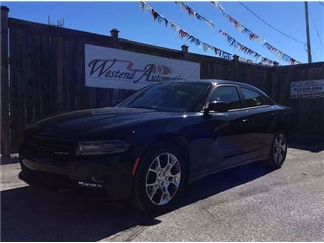 2016 Dodge Charger SXT SUNROOF in Ottawa, Ontario