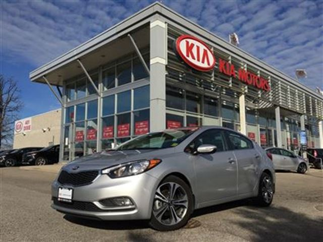 2016 KIA Forte SX - $145.88 Bi Weekly, Nav, Roof, Back up in Mississauga, Ontario