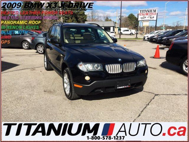 2009 BMW X3 3.0i X-Drive+GPS+Pano Roof+HID Lights+BlueTooth+++ in London, Ontario