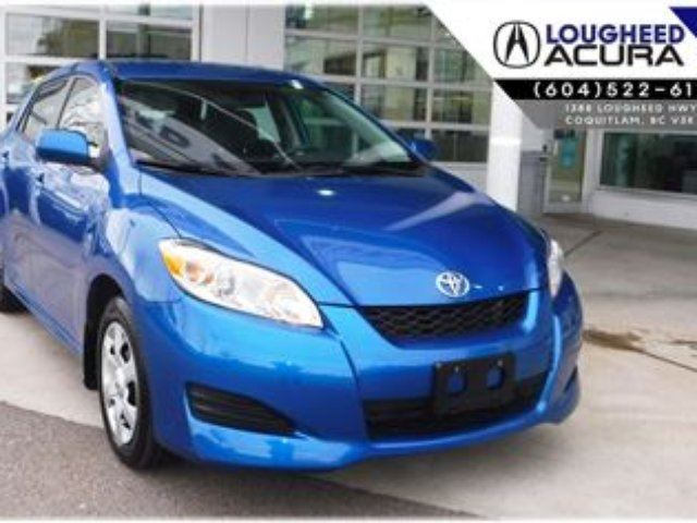 2010 TOYOTA MATRIX XR *Very Low Kms* in Coquitlam, British Columbia