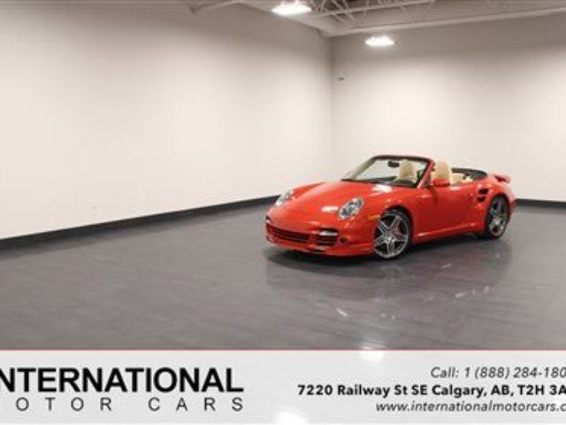 2009 PORSCHE 911 TURBO CABRIOLET! EVOMS 750 HORSEPOWER! in Calgary, Alberta