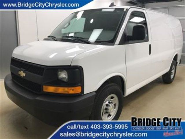 2017 Chevrolet Express 2500 RWD 135- Vinyl Seats and Rubber Flooring- Eas in Lethbridge, Alberta