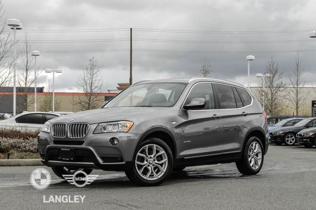 2013 Bmw X3 Technology Package And Premium Package Langley British Columbia Car For Sale