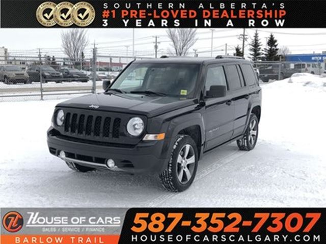 2016 jeep patriot high altitude calgary alberta used car for sale 2749473. Black Bedroom Furniture Sets. Home Design Ideas
