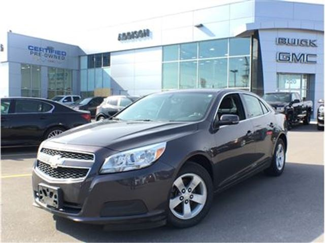 2013 Chevrolet Malibu 1LT accident free in Mississauga, Ontario