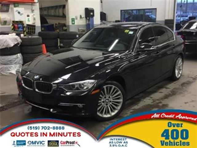 2013 BMW 3 SERIES 328 i i xDrive   LEATHER   ROOF   HEATED SEATS in London, Ontario
