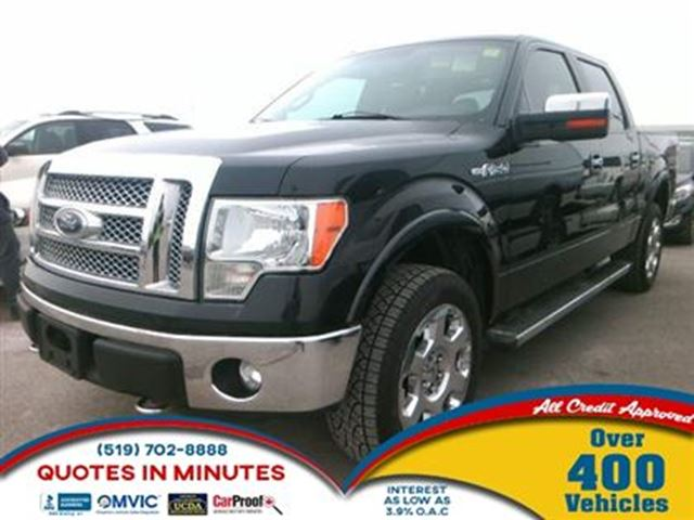 2012 Ford F-150 LARIAT   CAM   4X4   NAV   ROOF   LEATHER in London, Ontario