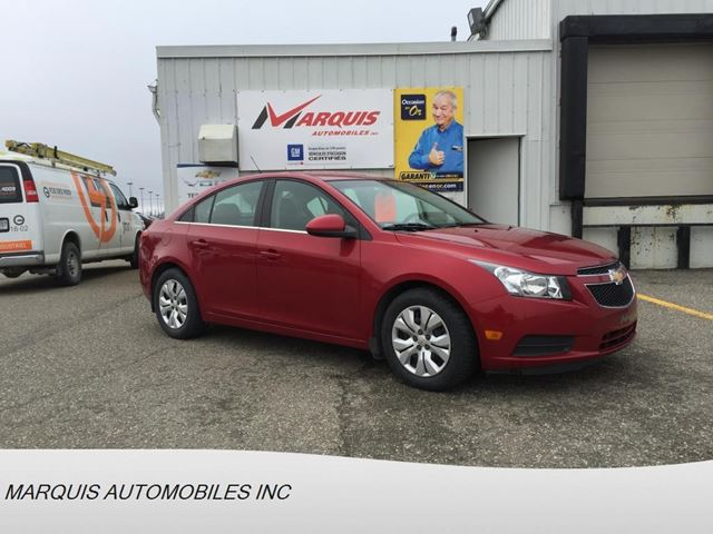2012 Chevrolet Cruze LT Turbo w/1SA in Matane, Quebec