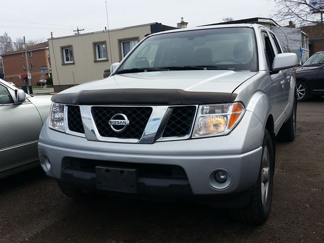 2006 Nissan Frontier LE,cert&etested,4X4! in Oshawa, Ontario