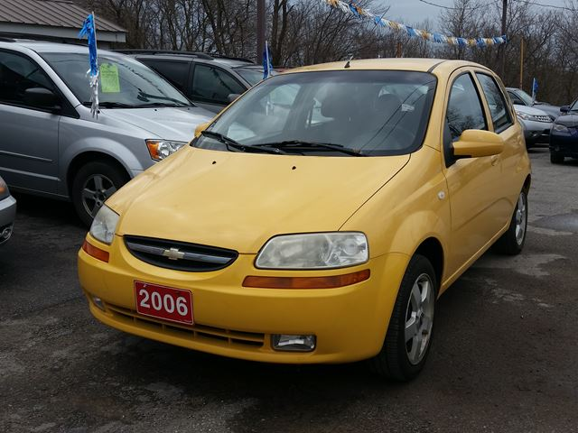 2006 Chevrolet Aveo ,cert&etested,LOW KMS!! in Oshawa, Ontario