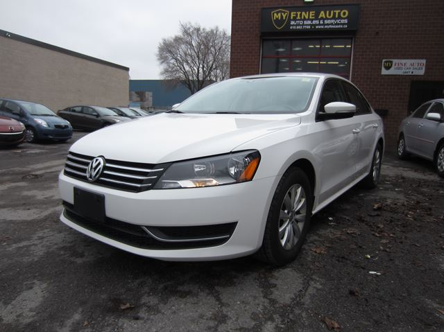 2013 Volkswagen Passat TRENDLINE + BLUETHOOTH + HEATED SEATS in Ottawa, Ontario