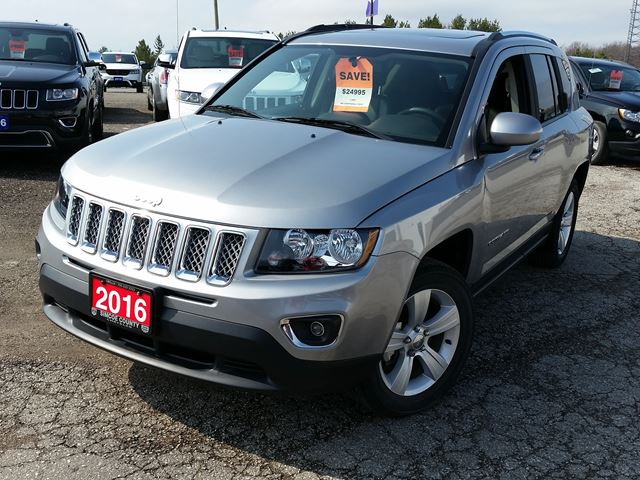 2016 jeep compass high altitude orillia ontario car for. Black Bedroom Furniture Sets. Home Design Ideas