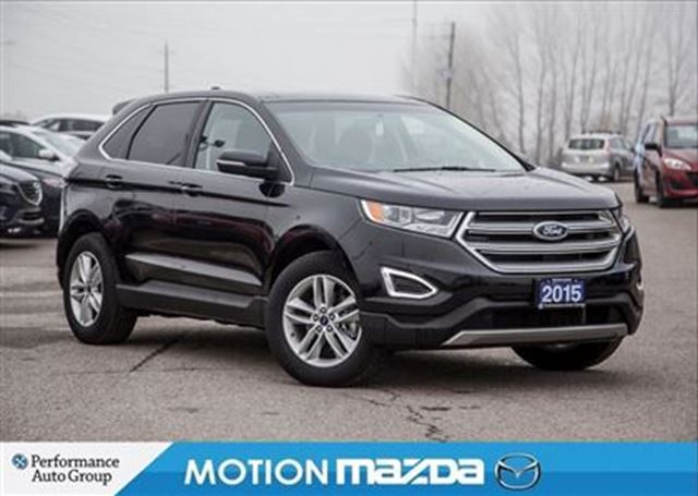 2015 FORD EDGE SEL Pano-Roof Leather Navi in Orangeville, Ontario