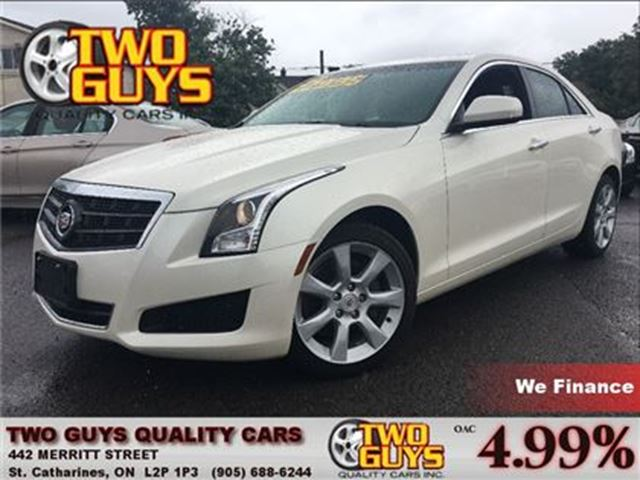 2014 CADILLAC ATS 2.0L Turbo AWD LEATHER MOON ROOF BACK UP CAMERA in St Catharines, Ontario