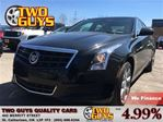 2014 Cadillac ATS 2.0L Turbo AWD LEATHER SEATS HEATED FRONT SEATS in St Catharines, Ontario