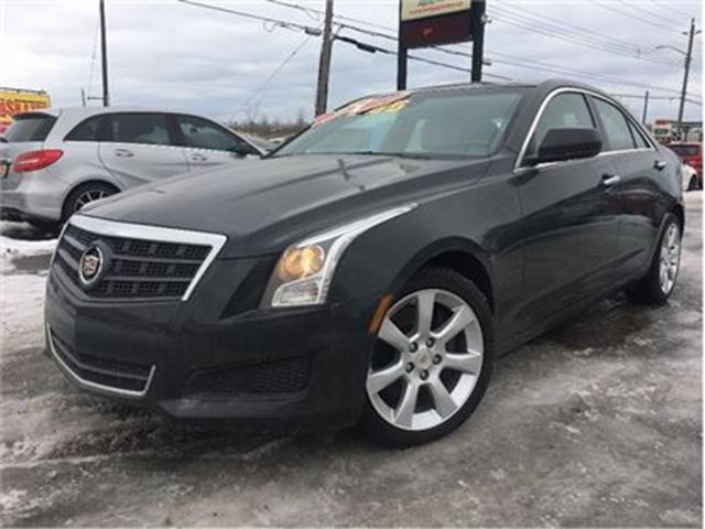 2014 CADILLAC ATS 2.0L Turbo LEATHER HEATED FRONT SEATS in St Catharines, Ontario