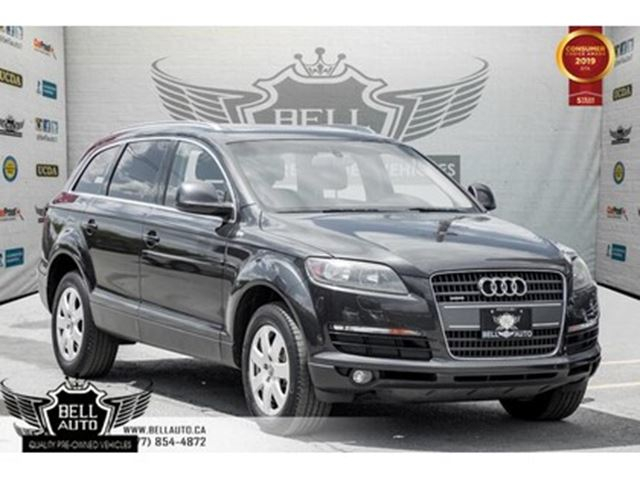 2009 audi q7 3 6 7 passenger premium pkg panoramic sunroof toronto ontario car for sale 2750546. Black Bedroom Furniture Sets. Home Design Ideas