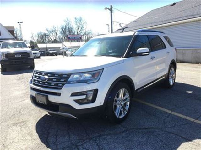 2016 Ford Explorer LIMITED AWD in Hagersville, Ontario