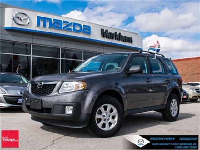 2011 Mazda Tribute GX I4 ACCIDENT FREE AT ALLOY TRACTION CONTROL in Markham, Ontario
