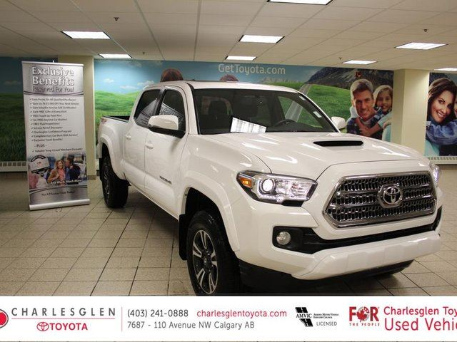 2016 Toyota Tacoma Double Cab TRD SPORT in Calgary, Alberta