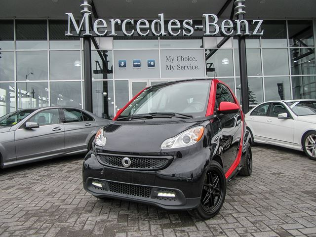 2013 Smart Fortwo passion cpn++ Edition Limited 8 Sharpred in Ottawa, Ontario